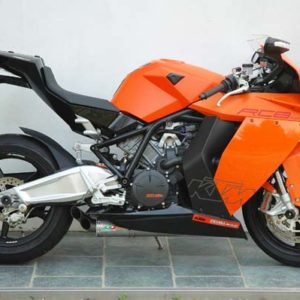 KTM RC8 Exhaust Mufflers