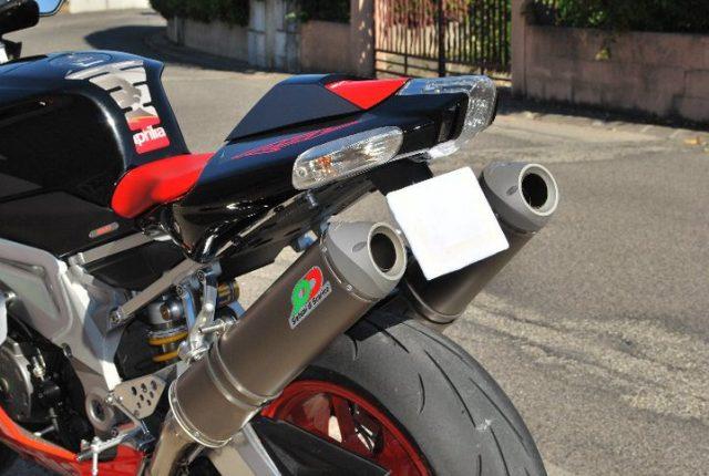 Aprilia RSV Tuono/Mille alloy mufflers
