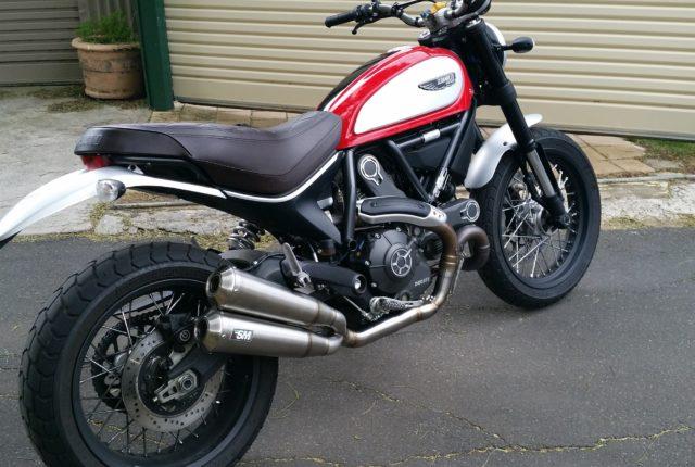 Ducati Scrambler 800 Muffler Silmotor
