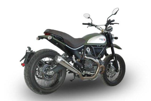 Ducati Scrambler 800 Q.D muffler