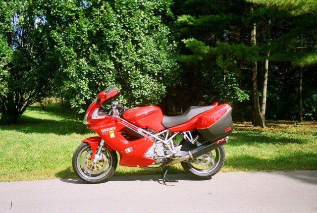 Ducati ST3/ST4 Carbon Twin Mufflers