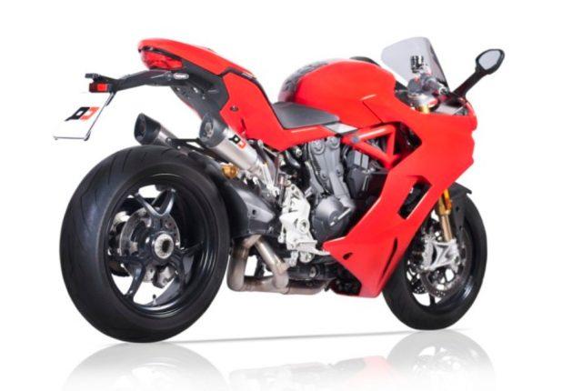 Ducati 959 Super Sport 2017 exhaust mufflers