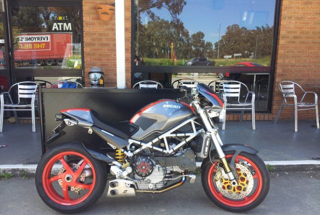 Ducati S4Rs Q.D Xbox exhaust