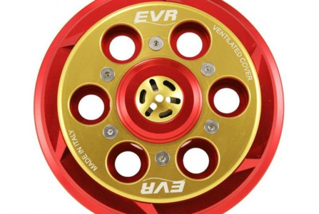 Ducati EVR vented billet clutch cover