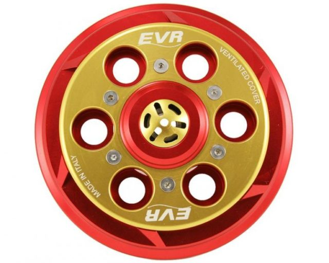 Ducati EVR vented billet clutch cover