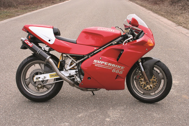 Ducati 851-888 Silmotor Performance Exhaust System