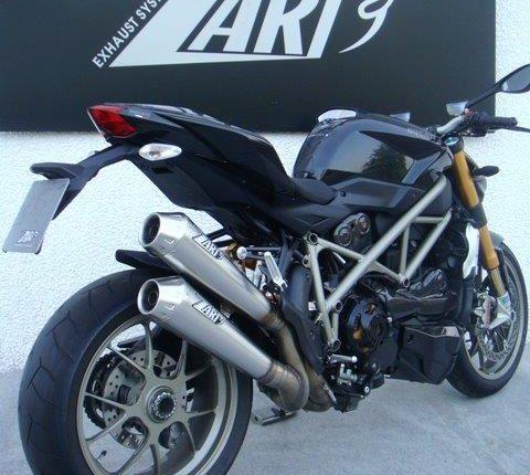 Ducati Street Fighter Zard Exhaust System