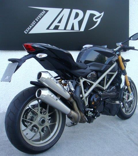 Ducati Street Fighter Zard Exhaust System