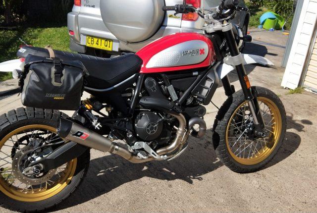 Ducati Scrambler Exhaust Q.D