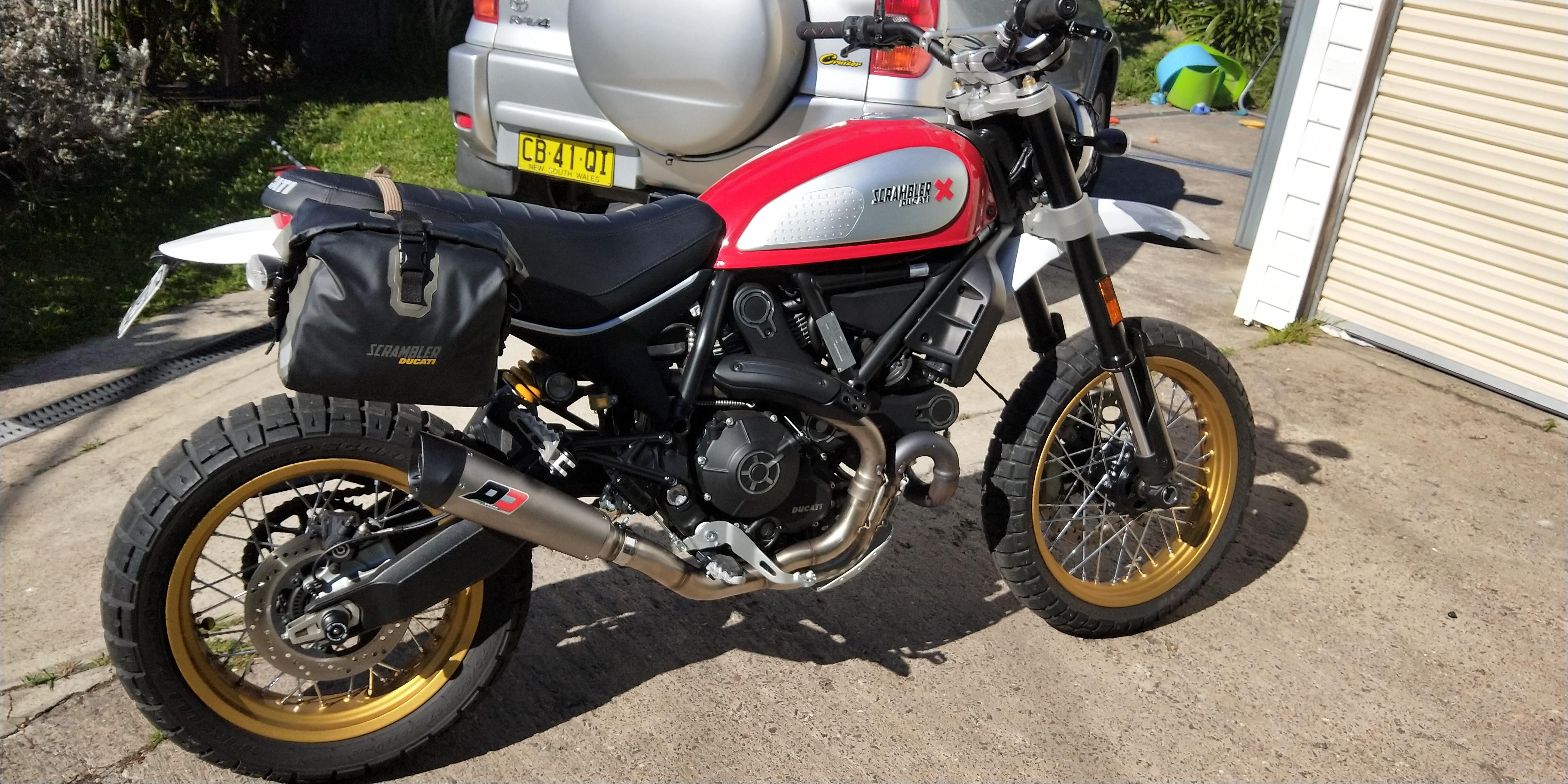 Ducati Scrambler Exhaust Q D