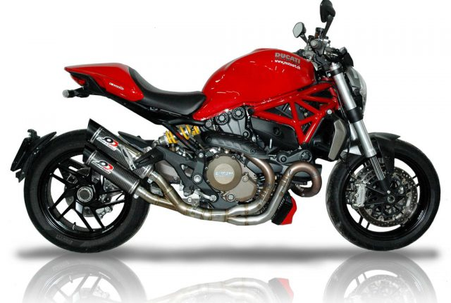 Ducati Monster 1200-821 Exhaust Mufflers