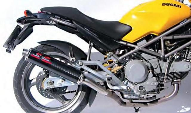 Ducati Monster 620 - 1000 slip on mufflers