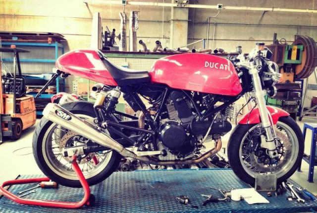 Ducati Sport Classic 1000 Exhaust Mufflers