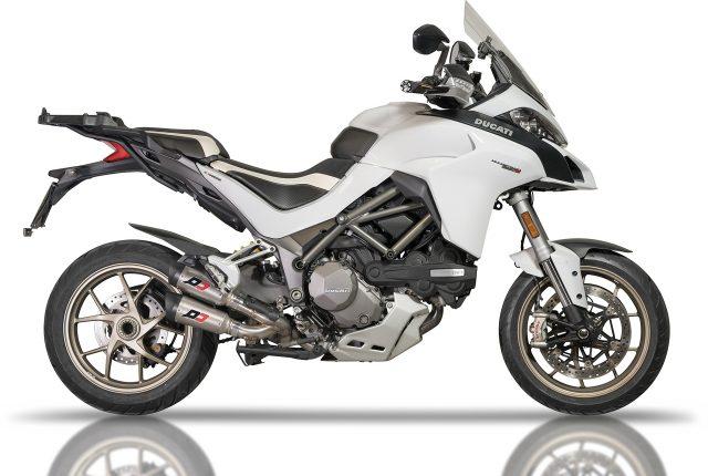 Ducati Multistrada 1260 2017-2019 Twin Exhaust Muffler