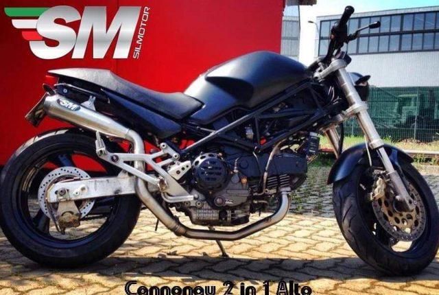 Ducati Monster M900 Exhaust Muffler